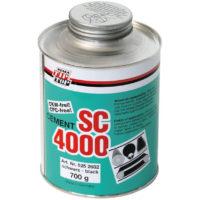 Клей SC 4000 универсальный клей, созданный с учетом требований по охране окружающей среды. Является альтернативой клея SC 2000: не содержит озоноразрушающих веществ и ароматических углеводородов, но при этом обладает отличными технологическими свойствами.
