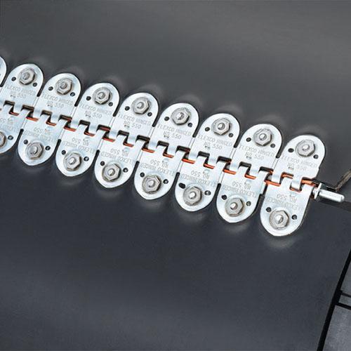 механические соединители замки дляя лент