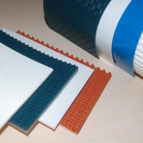 транспортерные ленты с пвх, пу и силиконовым покрытием